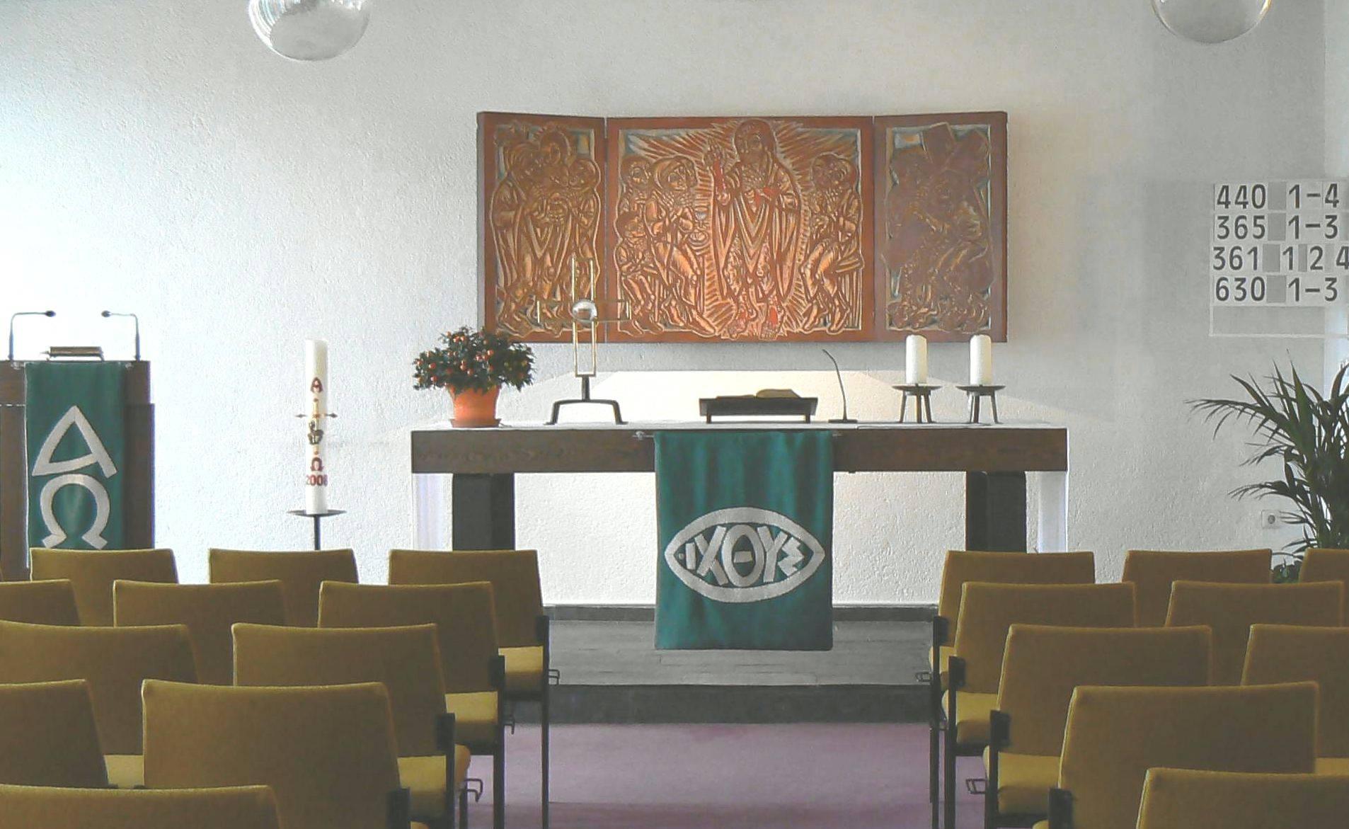 Andachtsraum Wohnstift Augustinum