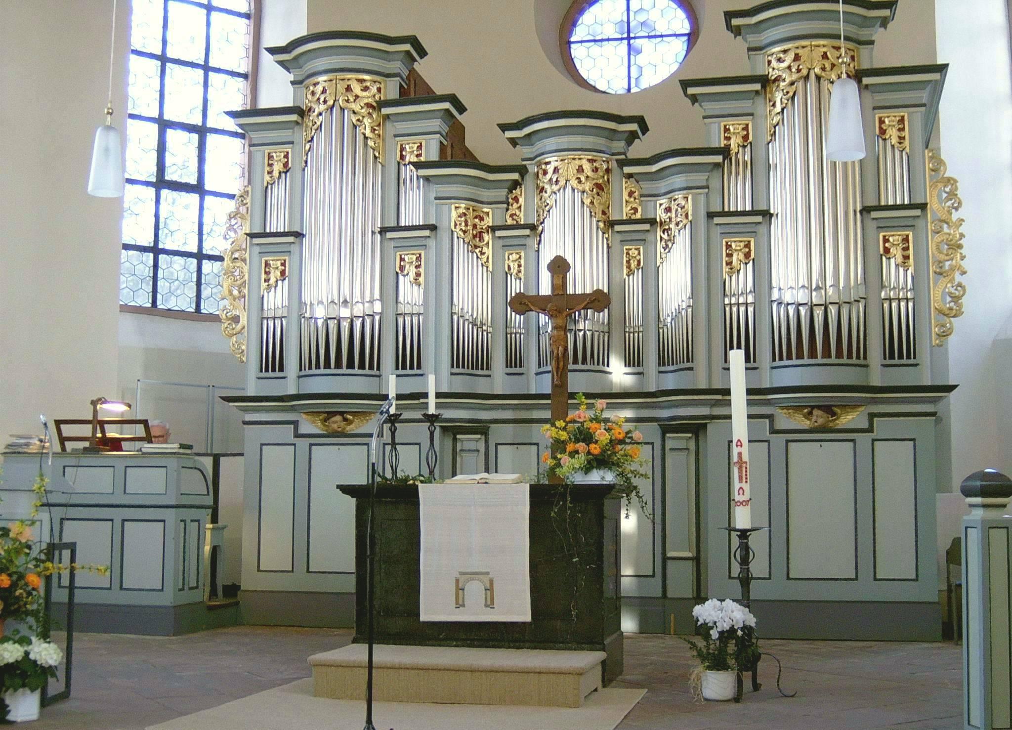 Romantische Orgel Neuenhain
